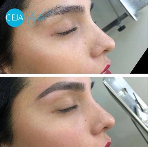 Perfilado y Maquillaje semi-permanente de Cejas